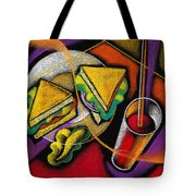 Lunch Tote Bag by Leon Zernitsky