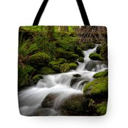 Lush Stream Tote Bag by Mike Reid