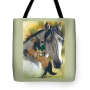 Lusitano Tote Bag by Barbara Keith