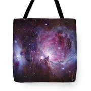 M42, The Orion Nebula Top, And Ngc Tote Bag by Robert Gendler