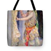 Mademoiselle Fleury In Algerian Costume Tote Bag by Pierre Auguste Renoir