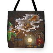 Magic Violin Tote Bag by Roz Eve