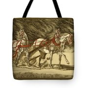 Magical Christmas Tote Bag by Melita Safran