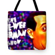 Magical Pee Wee Herman Tote Bag by Paul Van Scott
