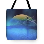 Magnetic Flux Tote Bag by Corey Ford