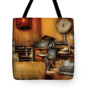 Mailman - In The Office Tote Bag by Mike Savad