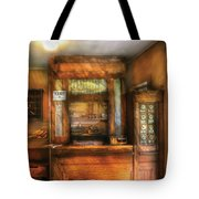 Mailman - The Post Office Tote Bag by Mike Savad