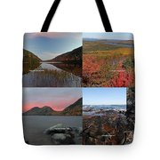 Maine Acadia National Park Landscape Photography Tote Bag by Juergen Roth