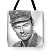 Major Frank Burns Tote Bag by Murphy Elliott