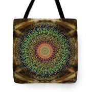 Mandala Armenian Alphabet Tote Bag by Bedros Awak