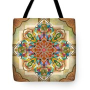 Mandala Birds Tote Bag by Bedros Awak
