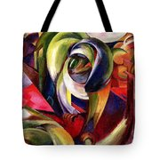 Mandrill Tote Bag by Franz Marc