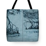 Mangroves Tote Bag by Leah  Tomaino