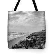 Mantoloking Beach - Jersey Shore Tote Bag by Angie Tirado