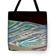 Mao Is In Every Chinese Pocket Tote Bag by Christine Till