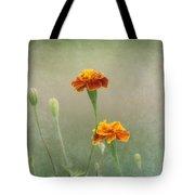 Marigold Fancy Tote Bag by Kim Hojnacki