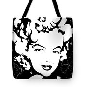 Marilyn Monroe Tote Bag by Curtiss Shaffer