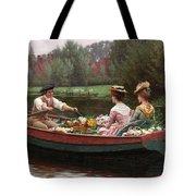 Market Day Tote Bag by Edmund Blair Leighton