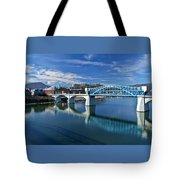 Market Street Bridge  Tote Bag by Tom and Pat Cory