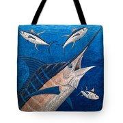 Marlin And Ahi Tote Bag by Carol Lynne