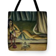 Mary Jane Addington Tote Bag by C S