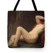 Mary Magdalene In The Cave Tote Bag by Jules Joseph Lefebvre