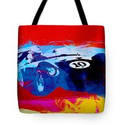 Maserati On The Race Track 1 Tote Bag by Naxart Studio