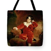 Master Charles William Lambton Tote Bag by Sir Thomas Lawrence