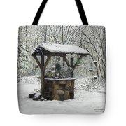 Mavis' Well Tote Bag by Mary Ann King