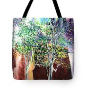 Maya Tote Bag by Anil Nene