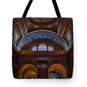 Mcgraw Rotunda Nypl Tote Bag by Susan Candelario