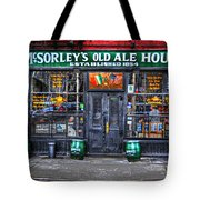 Mcsorley's  In Color Tote Bag by Randy Aveille