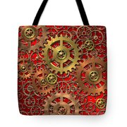 Mechanism Tote Bag by Michal Boubin