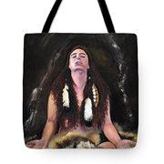 Medicine Woman Tote Bag by J W Baker