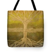 Meditation Tote Bag by Leah  Tomaino