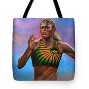 Merlene Ottey Tote Bag by Paul Meijering