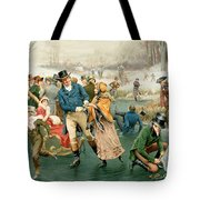 Merry Christmas Tote Bag by Frank Dadd
