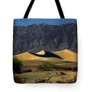 Mesquite Flat Dunes - Death Valley California Tote Bag by Christine Till