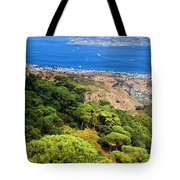 Messina Strait - Italy Tote Bag by Silvia Ganora