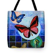 Metamorphosis Of The New Life Tote Bag by John Lautermilch