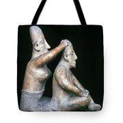Mexico: Totonac Figures Tote Bag by Granger