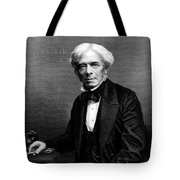Michael Faraday, English Physicist Tote Bag by Photo Researchers