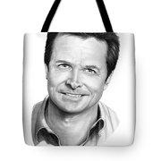 Michael J. Fox Tote Bag by Murphy Elliott