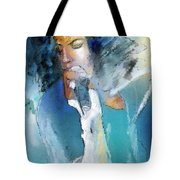 Michael Jackson 04 Tote Bag by Miki De Goodaboom