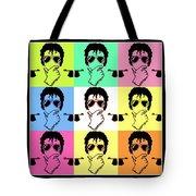 Michael Jackson Pop Tote Bag by Paul Van Scott