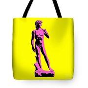 Michelangelos David - Punk Style Tote Bag by Pixel Chimp