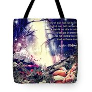 Midsummer Night Dream Tote Bag by Mo T