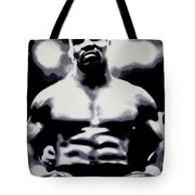 Mike Tyson Tote Bag by Luis Ludzska