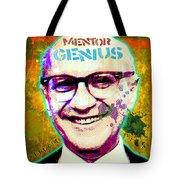 Milton Friedman Tote Bag by Gary Grayson