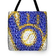 Milwaukee Brewers Mosaic Tote Bag by Paul Van Scott